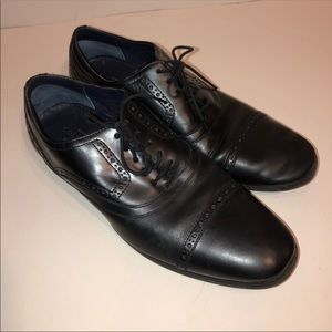 Cole Haan Grand.OS Leather Oxford Shoes